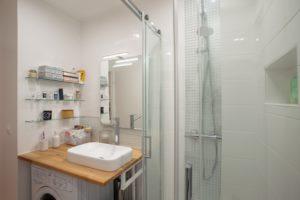 renovation et agrandissement salle de bain Valerie Jacquart decoratrice