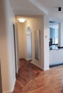 transformation et renovation d'un appartement