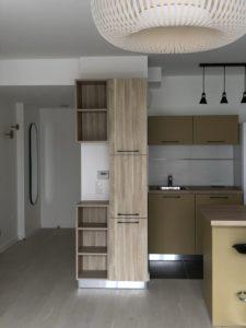 Amenagement et equipement d'un appartement en location meublee