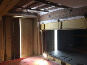 En travaux plateau mezzanine
