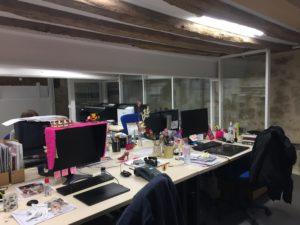 Création d'espaces bureaux