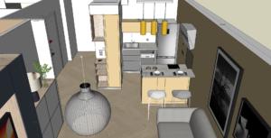 Projet ameublement d'un appartement
